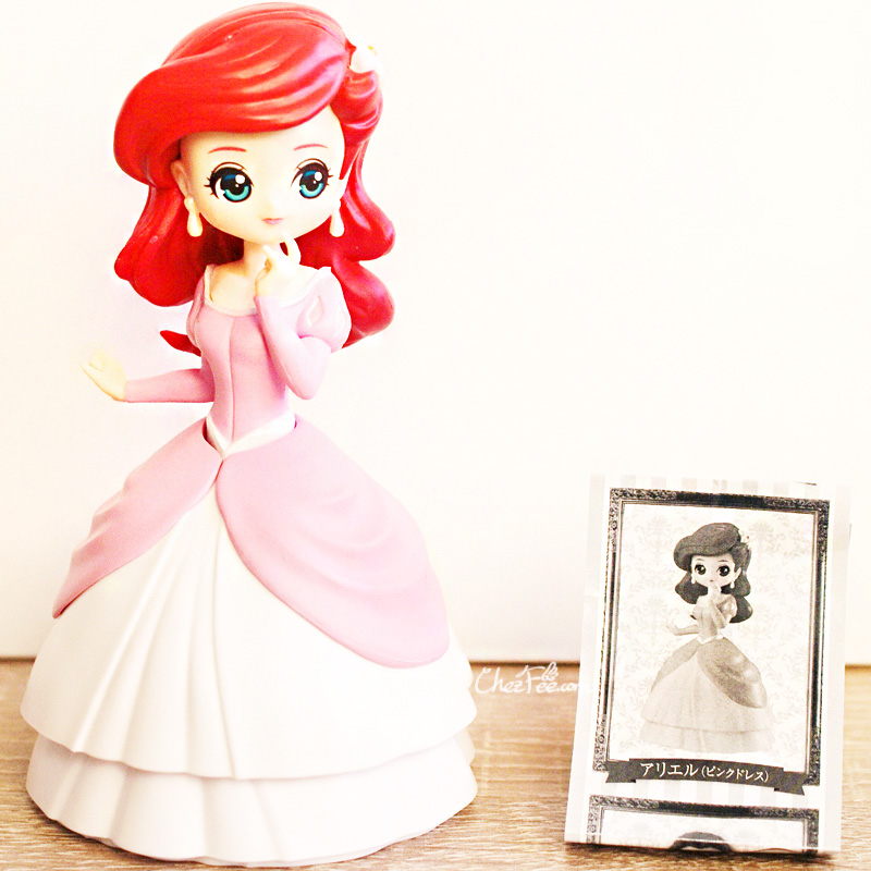 boutique kawaii shop chezfee gashapon figurine disney princesses posket heroine doll ariel 2