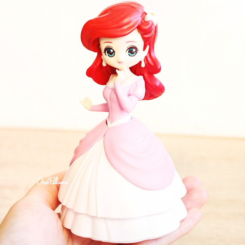 boutique kawaii shop chezfee gashapon figurine disney princesses posket heroine doll ariel 4