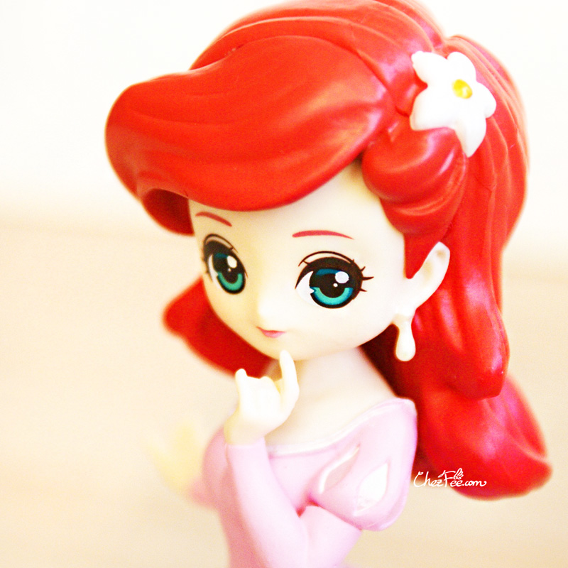 boutique kawaii shop chezfee gashapon figurine disney princesses posket heroine doll ariel 5