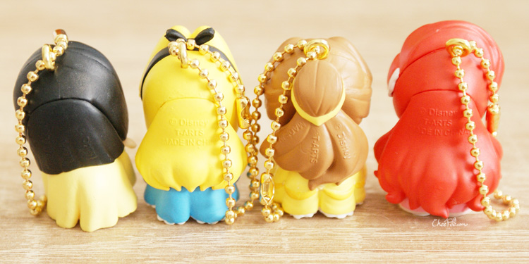 boutique kawaii shop chezfee gashapon figurine porte clef clip chibi disney princesses 5