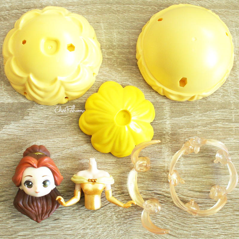 boutique kawaii shop chezfee gashapon figurine disney princesses posket heroine doll belle robe 3