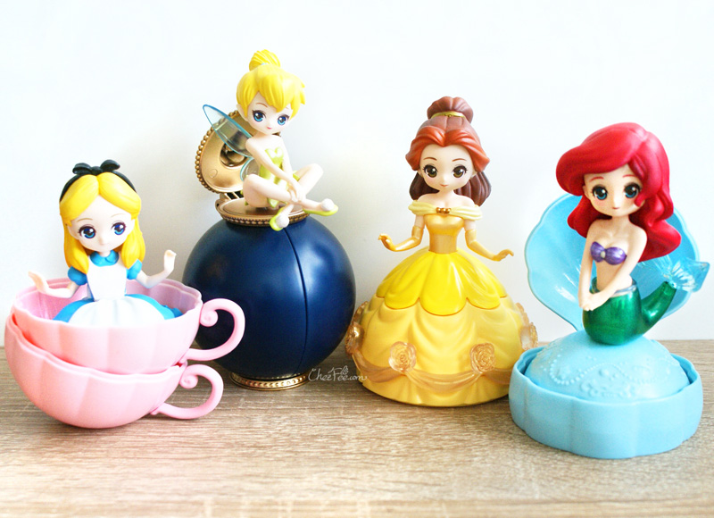 boutique kawaii shop chezfee gashapon figurine disney princesses posket heroine doll filles 3