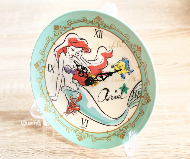 boutique kawaii shop france chezfee disney japan ariel sirene horloge ceramique 1