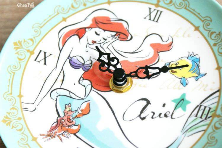 boutique kawaii shop france chezfee disney japan ariel sirene horloge ceramique 2
