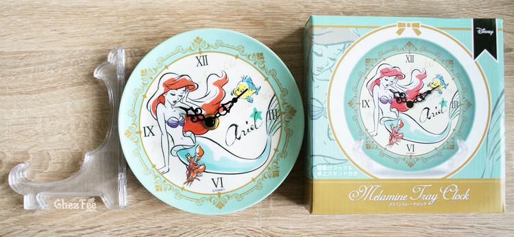 boutique kawaii shop france chezfee disney japan ariel sirene horloge ceramique 4