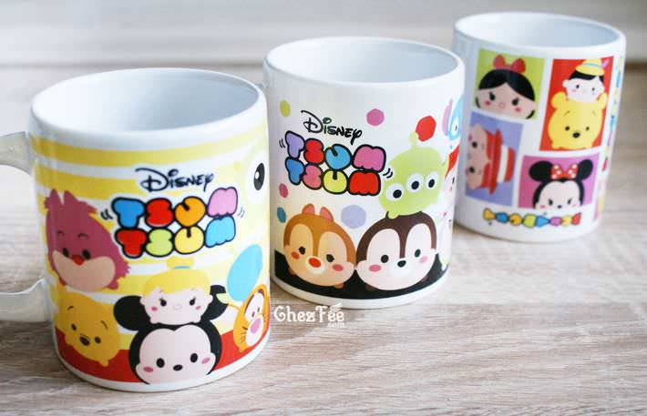 boutique kawaii shop chezfee tsumtsum disney mug 5
