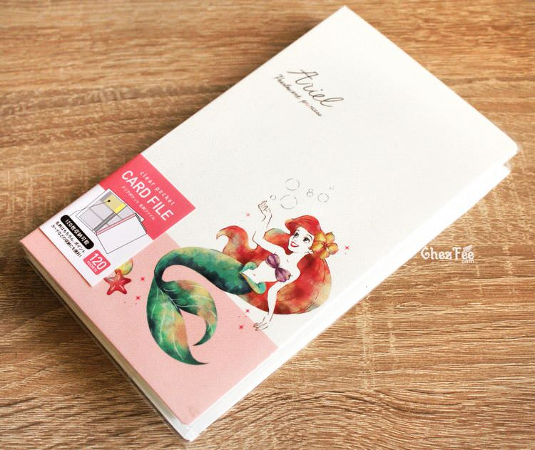 boutique kawaii shop chezfee disney japon porte carte ariel jolie 1
