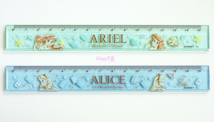 boutique kawaii shop france disney japan alice wonderland pays merveilles ariel papeterie regle 1