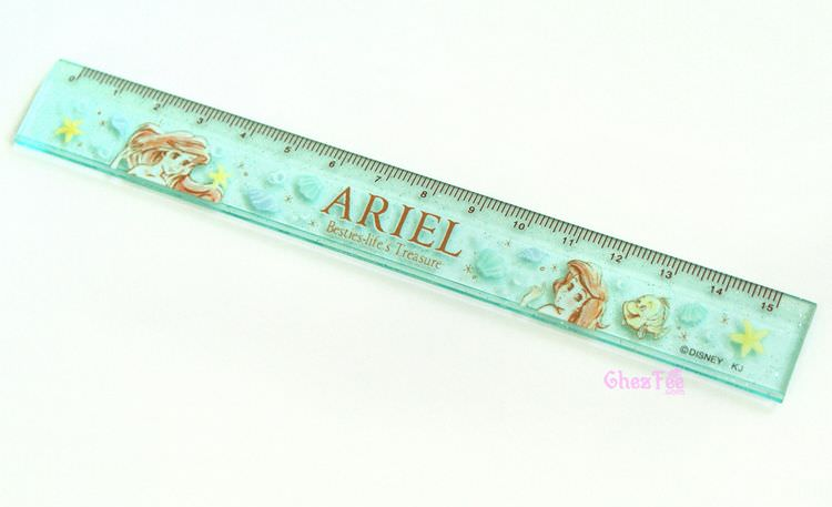 boutique kawaii shop france disney japan ariel mermaid papeterie regle 1