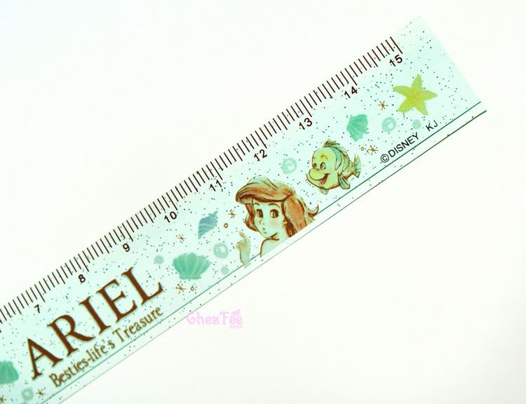 boutique kawaii shop france disney japan ariel mermaid papeterie regle 2