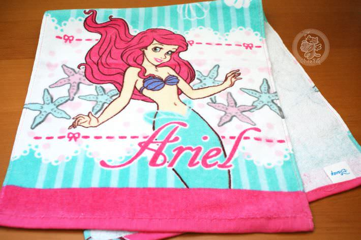 boutique kawaii shop disney japan chezfee france serviette ariel petite sirene visage3