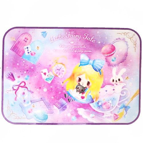 boutique kawaii shop chezfee france disney fairytale alice chibi couverture polaire 1