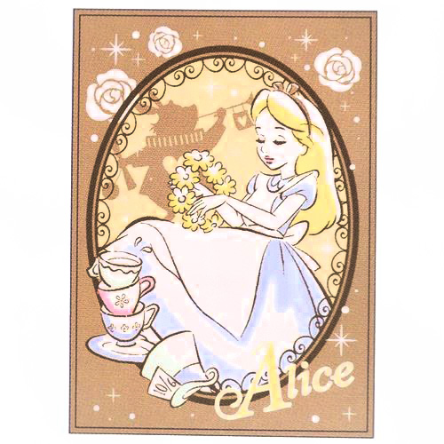 boutique kawaii shop chezfee france disney japan alice wonderland grande couverture polaire 1