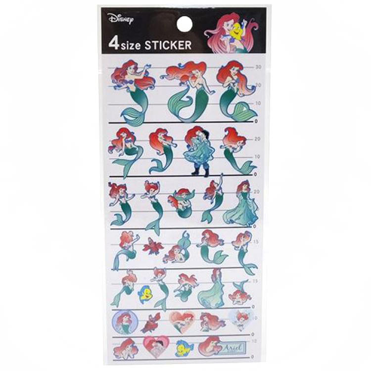 boutique kawaii shop cute chezfee disney japan sticker autocollant ariel sirene 1