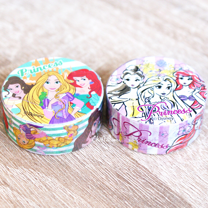 boutique kawaii shop chezfee disney japan princesses masking tape sticker princesses lot 4