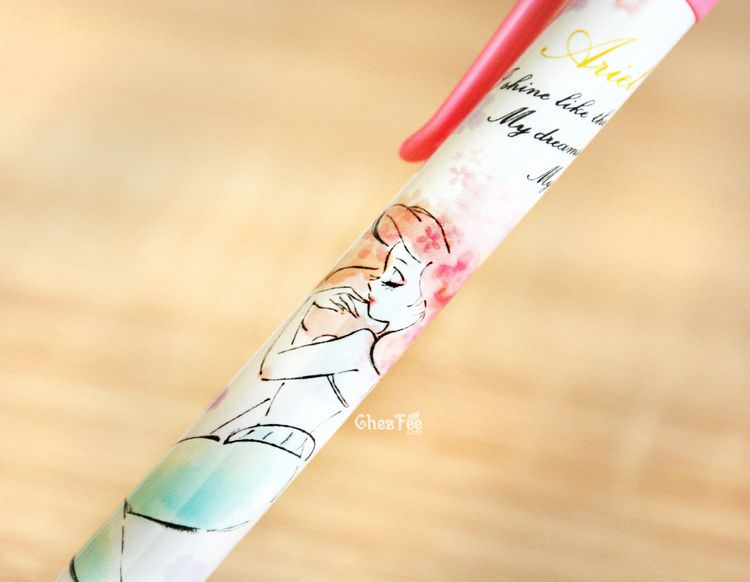 boutique kawaii shop chezfee papeterie disney japan bic criterium ariel rose 2