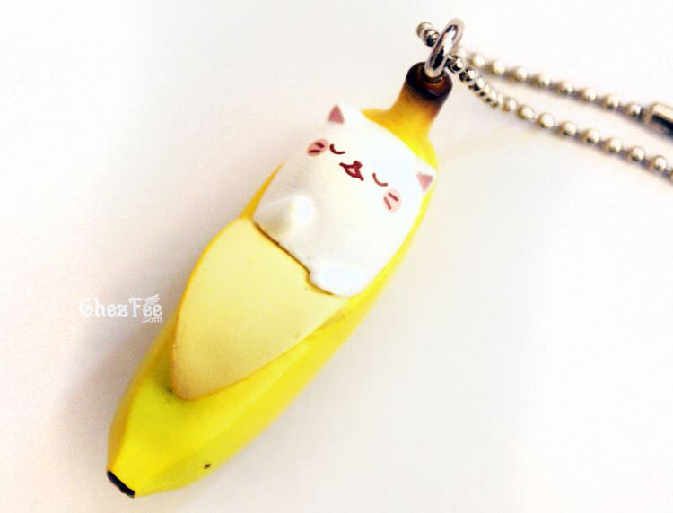 boutique kawaii shop cute gashapon japonais chat bananya dodo 1