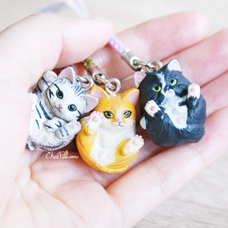 boutique kawaii shop chezfee object gashapon blindbox chat roule rond 6