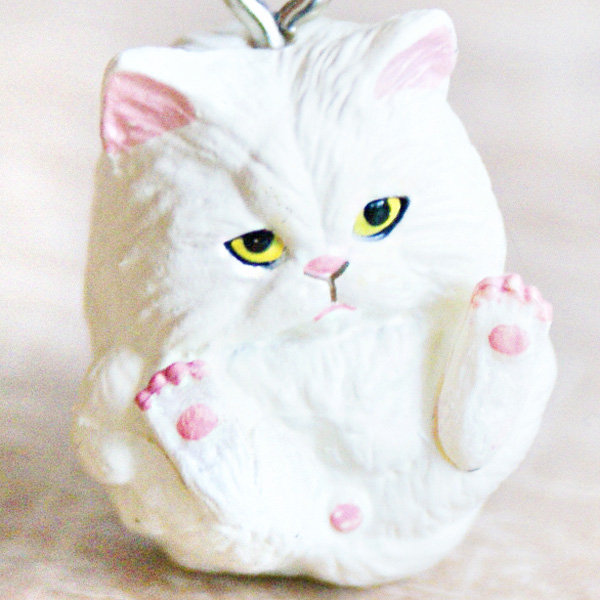 boutique kawaii shop chezfee object gashapon blindbox chat roule rond blanc 1