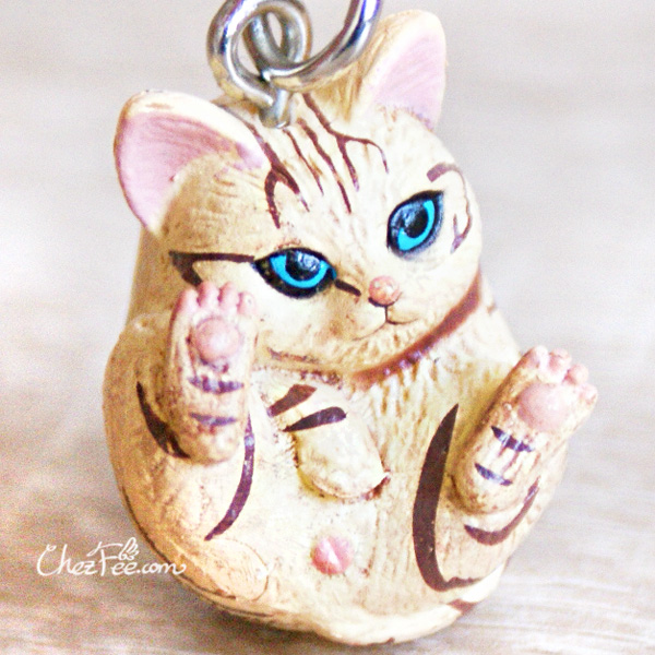 boutique kawaii shop chezfee object gashapon blindbox chat roule rond tigre 1