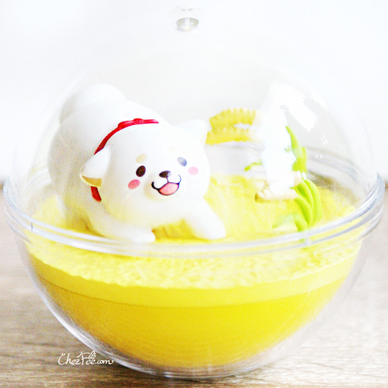 boutique kawaii shop chezfee gashapon figurine japonais mochi shiba inu seasonal terrarium printemps automne 2