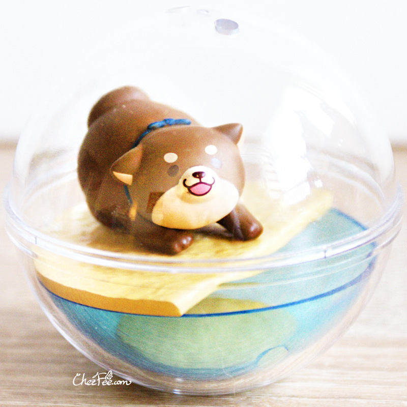 boutique kawaii shop chezfee gashapon figurine japonais mochi shiba inu seasonal terrarium printemps ete 2
