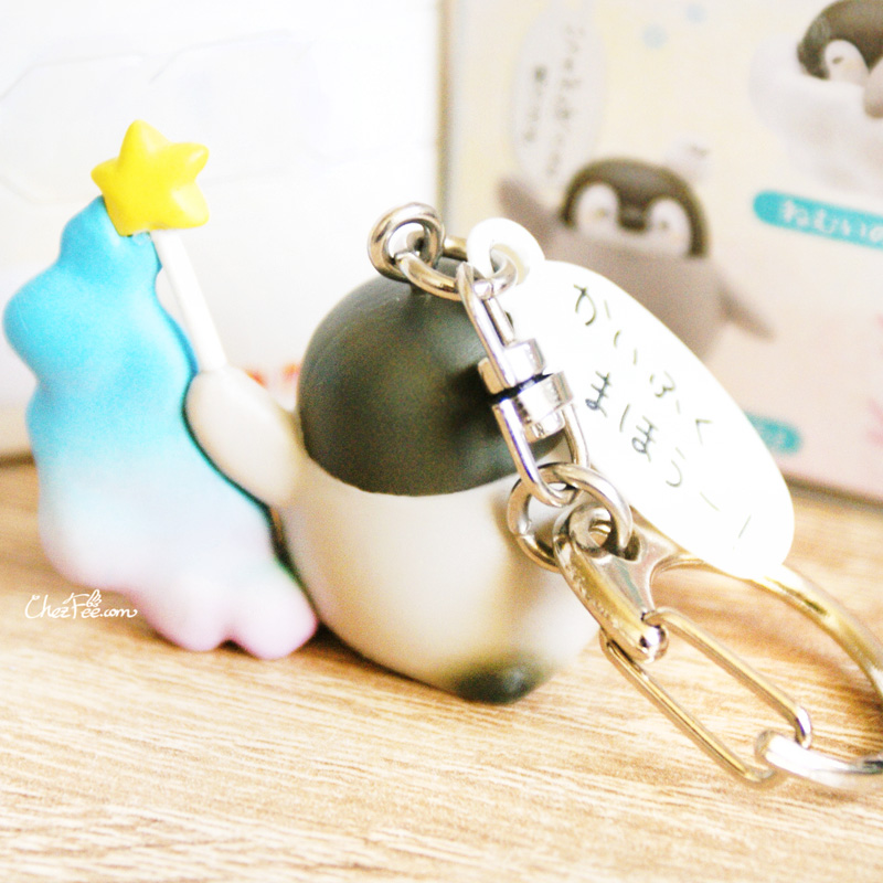 boutique kawaii shop france chezfee boite mysterieuse blind box pingouin porte clef 6