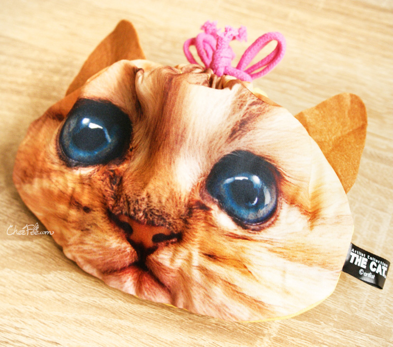 boutique kawaii shop france chezfee gachapon capsule pochette pochon japonais visage bouille chat 9