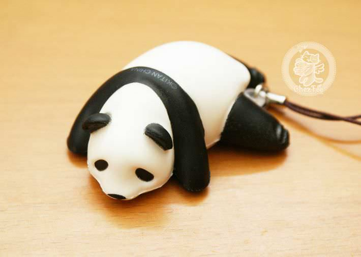 boutique kawaii shop france chezfee com gachapon strap porteclef panda squishy paresseux1