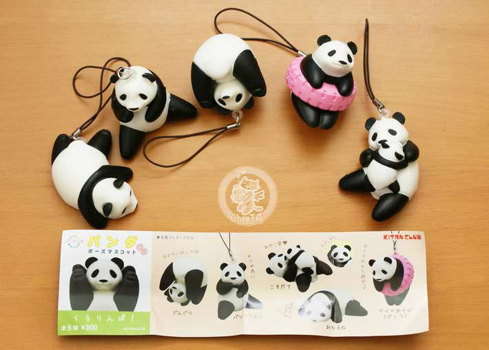 boutique kawaii shop france chezfee com gachapon strap porteclef panda squishy3