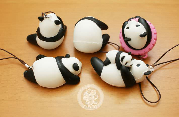 boutique kawaii shop france chezfee com gachapon strap porteclef panda squishy5