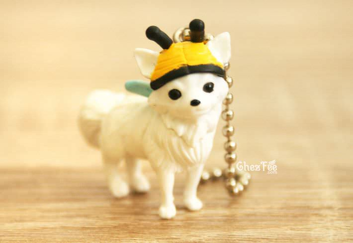 boutique kawaii shop france chezfee gachapon wancos cosplay chien bandai chihuahua abeille1