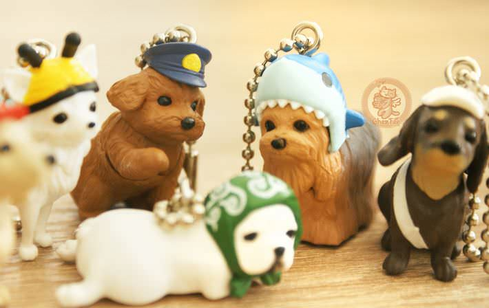 boutique kawaii shop france chezfee gachapon wancos cosplay chien bandai6