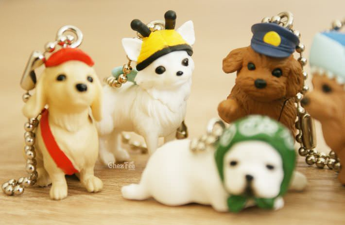 boutique kawaii shop france chezfee gachapon wancos cosplay chien bandai7