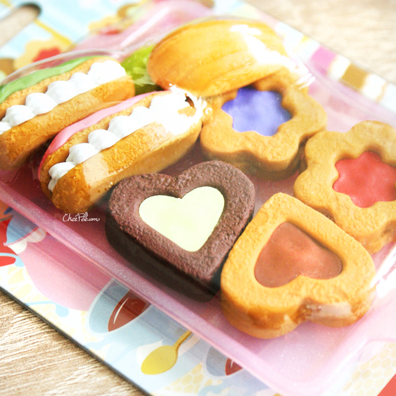 boutique kawaii shop france chezfee cute papeterie gomme eraser iwako japon food biscuits 3