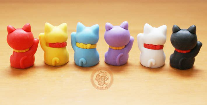 boutique kawaii shop france chezfee com cute papeterie gomme eraser iwako japan japon manekineko2