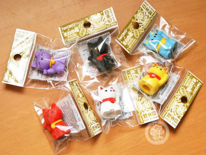 boutique kawaii shop france chezfee com cute papeterie gomme eraser iwako japan japon manekineko4