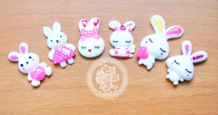 loisir-creatif-diy-accessoir-decoration-cabochon-decoden-mignon-boutique-kawaii-en-ligne-chezfee-lot-lapin1
