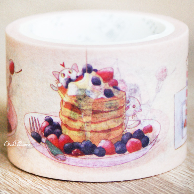 boutique kawaii shop chezfee fourniture papeterie washi masking tape chat patisserie 2
