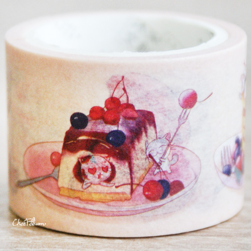 boutique kawaii shop chezfee fourniture papeterie washi masking tape chat patisserie 3