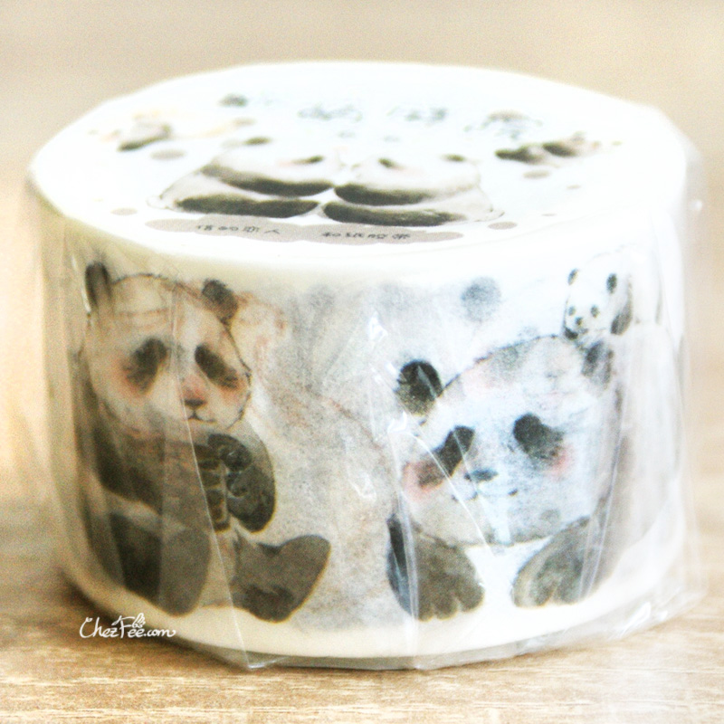 boutique kawaii shop chezfee fourniture papeterie washi masking tape panda 2