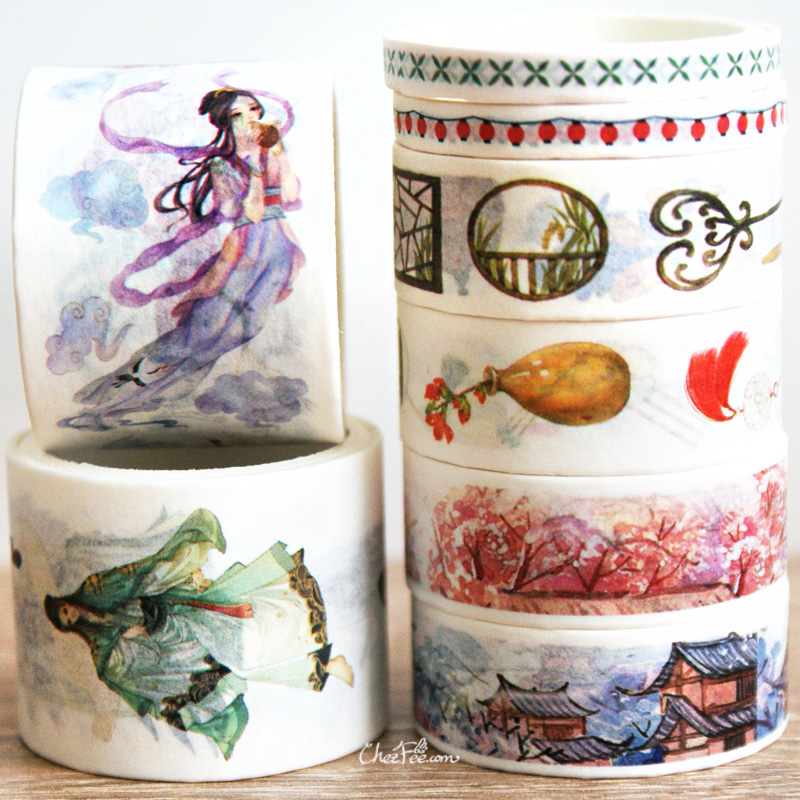 boutique kawaii shop chezfee fourniture papeterie washi masking tape chine ancienne ancient china 3