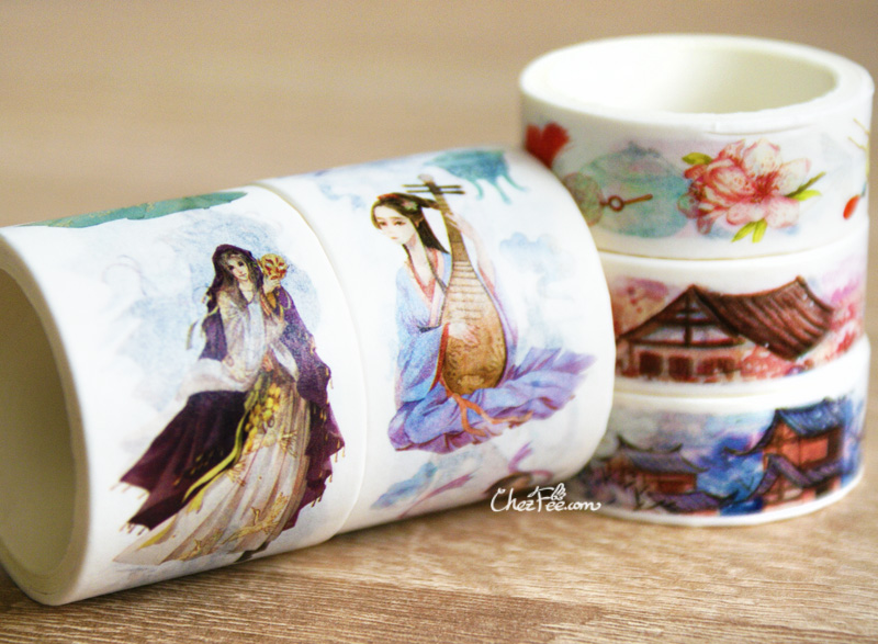 boutique kawaii shop chezfee fourniture papeterie washi masking tape chine ancienne ancient china 4