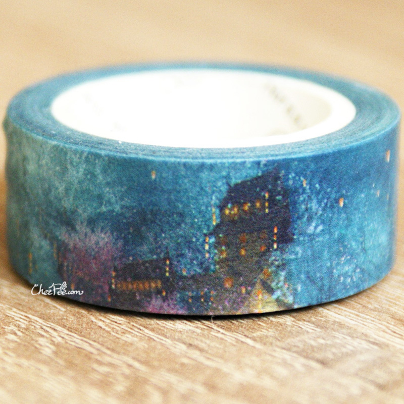 boutique kawaii shop chezfee fourniture papeterie washi masking tape nuit 3