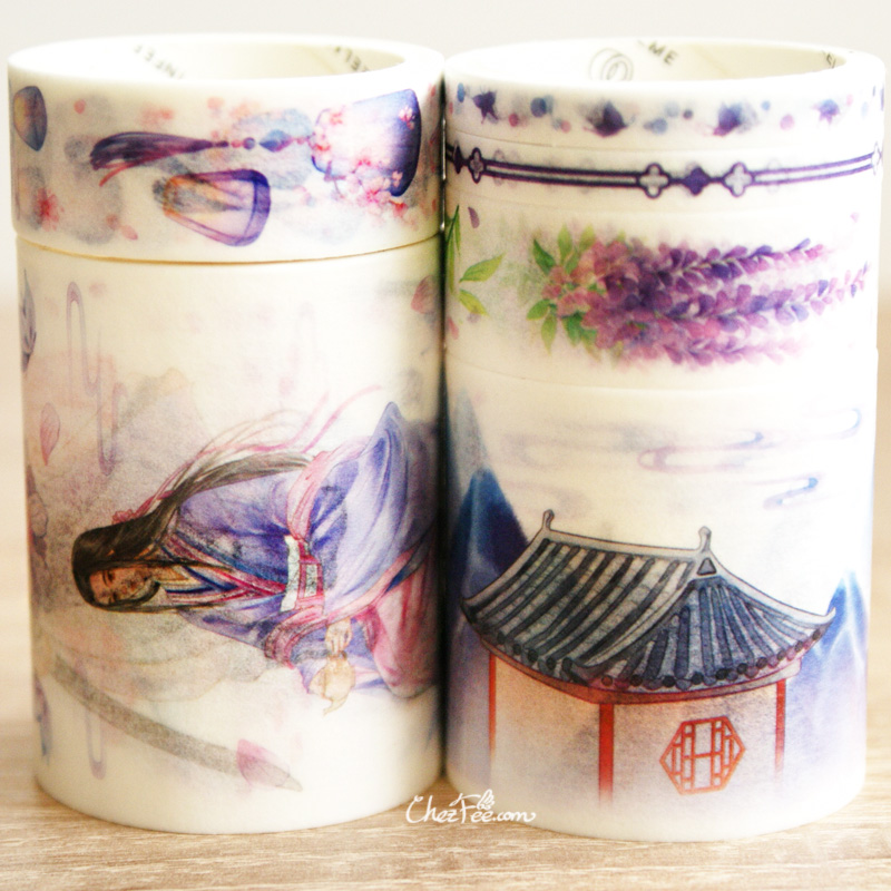 boutique kawaii shop chezfee fourniture papeterie washi masking tape vetement chinois hanfu chant 2