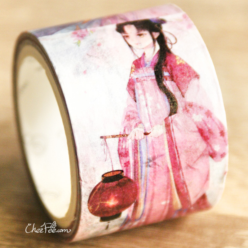 boutique kawaii shop chezfee fourniture papeterie washi masking tape vetement traditionnel chinois hanfu floraison 3