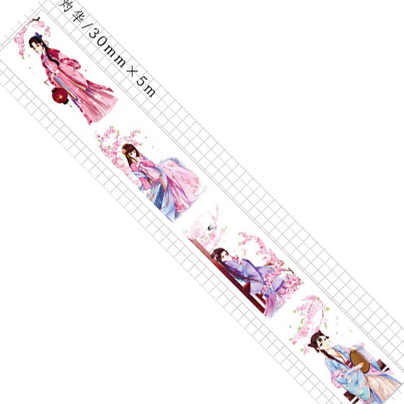 boutique kawaii shop chezfee fourniture papeterie washi masking tape vetement traditionnel chinois hanfu floraison 4