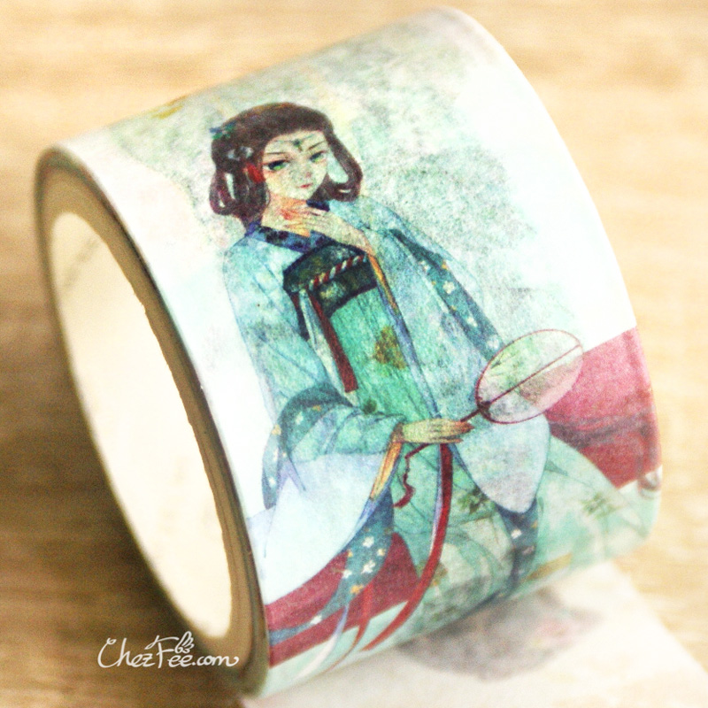 boutique kawaii shop chezfee fourniture papeterie washi masking tape vetement traditionnel chinois hanfu fraicheur 3