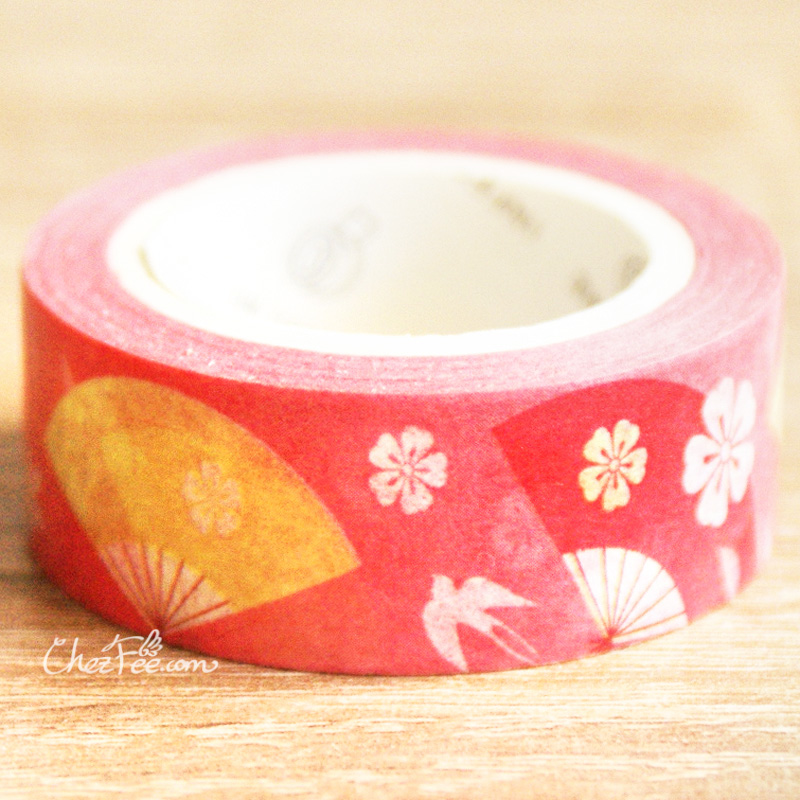 boutique kawaii shop chezfee fourniture papeterie washi masking tape motif japonais shizuka 2
