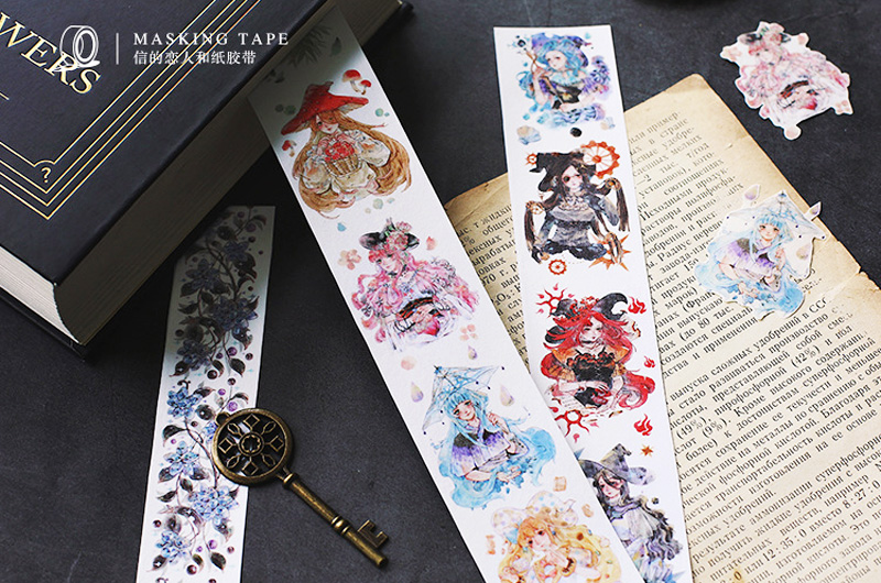 boutique kawaii shop chezfee fourniture papeterie washi masking tape magique sorcieres witch 3